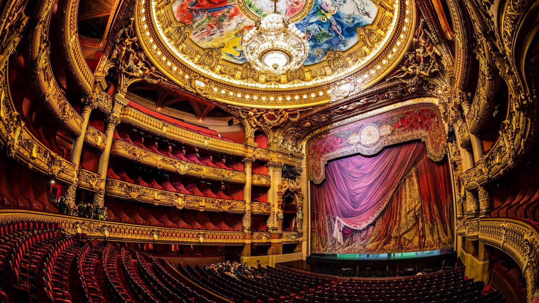 Palais Garnier  Paris - خیالبافی - خیالباف