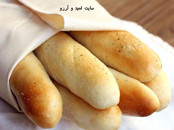 آموزش طرز تهیه نان باگت
