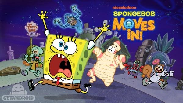 دانلود SpongeBob Moves In 4.33.00 بازی باب اسفنجی اندروید