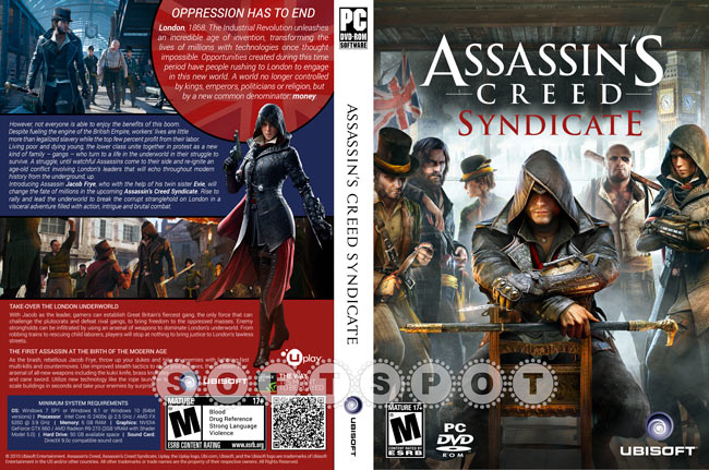 کاور بازی Assassin's Creed Syndicate