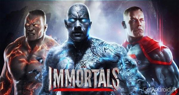 دانلود WWE Immortals 1.9.0 – بازی کشتی کج خارق العاده اندروید + دیتا