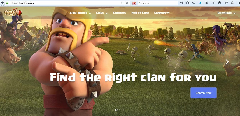 سایت کلش آف کلنز
