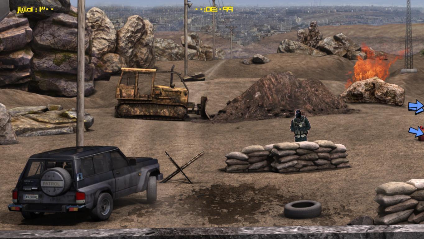 هک اندروید سیم کارت دانلود بازی واقعی جنگ سوریه با داعش