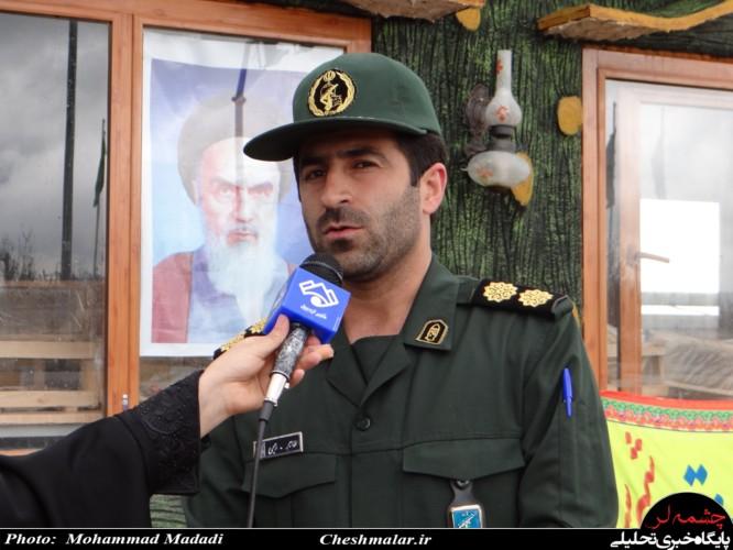 Image result for فرمانده سپاه ناحیه سرعین