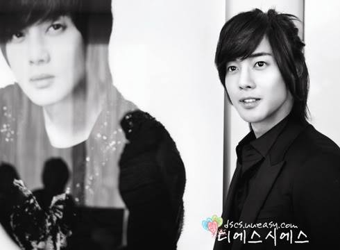 Hyun Joong Long Hair Cut