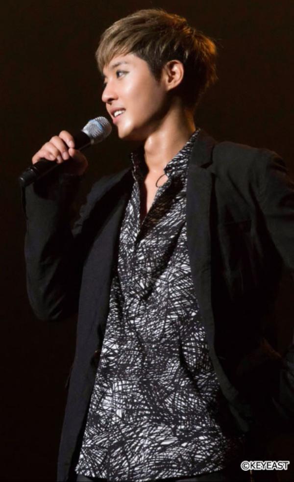 [Photo] Kim Hyun Joong Japan Mobile Site Update [2015.10.16]