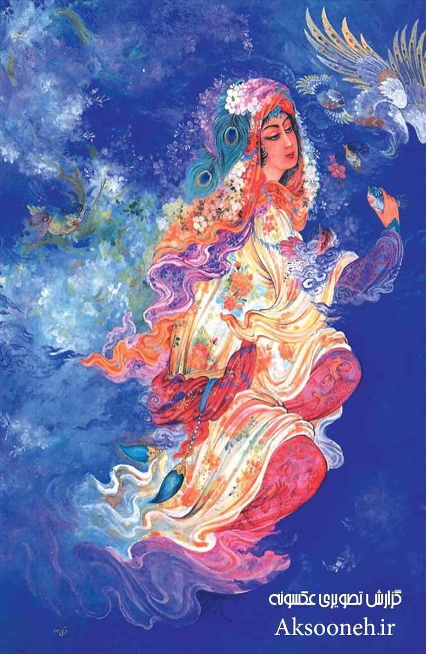 تصاویر زیباترین مینیاتورهای ایرانی