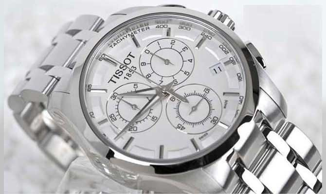 خرید پستی ساعت tissot