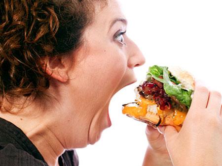 همبرگر فست فودی خوشمزه وخطرناک , رژیم وتغذیه