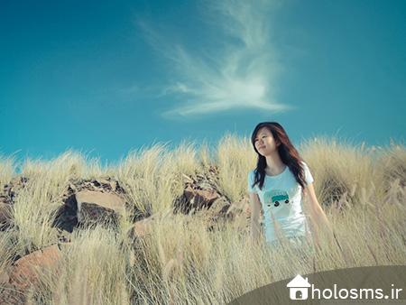 عکس دختر تنها - 2