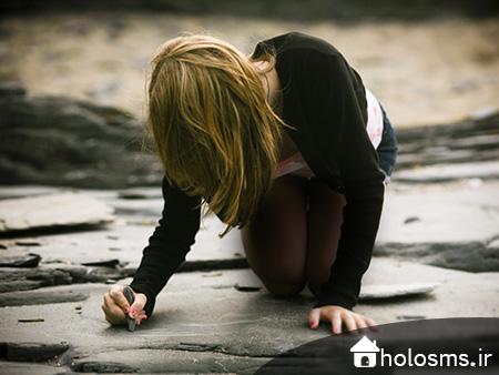 عکس دختر تنها - 7