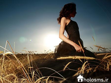 عکس دختر تنها - 8