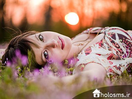 عکس دختر تنها - 10