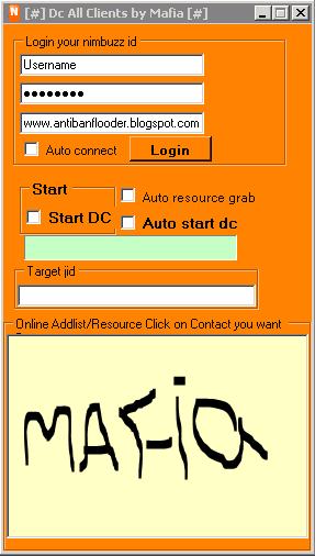 Nimbuzz: DC All Client by Mafia Mafia