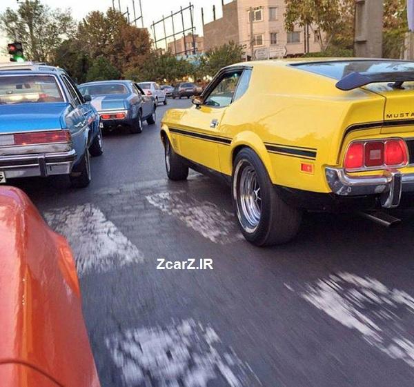 ماشین آمریکایی های ایران