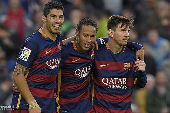 بارسلونا از رئال فاصله گرفت , اخبار ورزشی