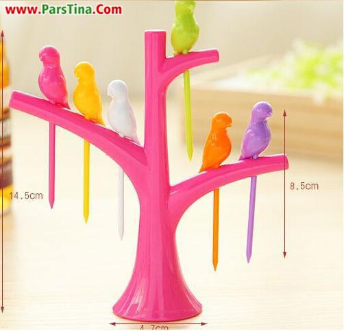 چنگال birdie fruit fork