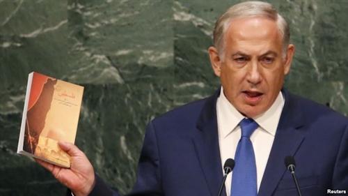 نارضایتی نتانیاهو از کتاب فلسطین آیت الله خامنه ای