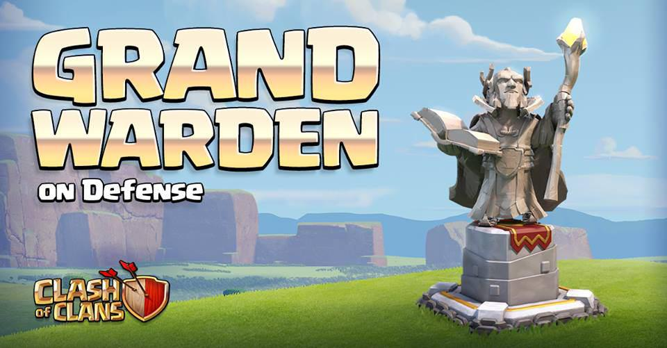 Grand Warden در دفاع از دهکده شما چگونه عمل می کند