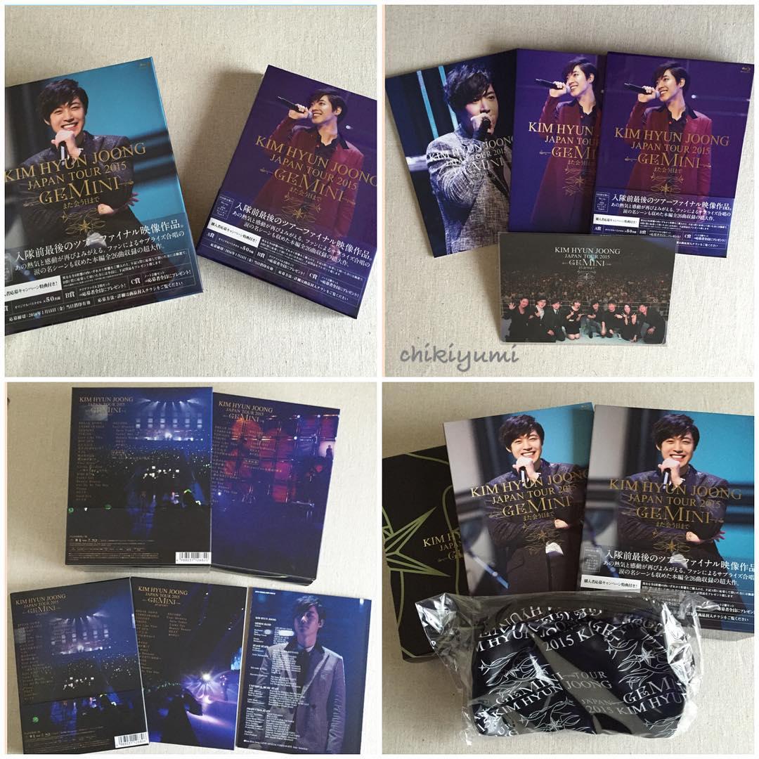 DVD of the tour Gemini by @ chikiyumi 15.12.15