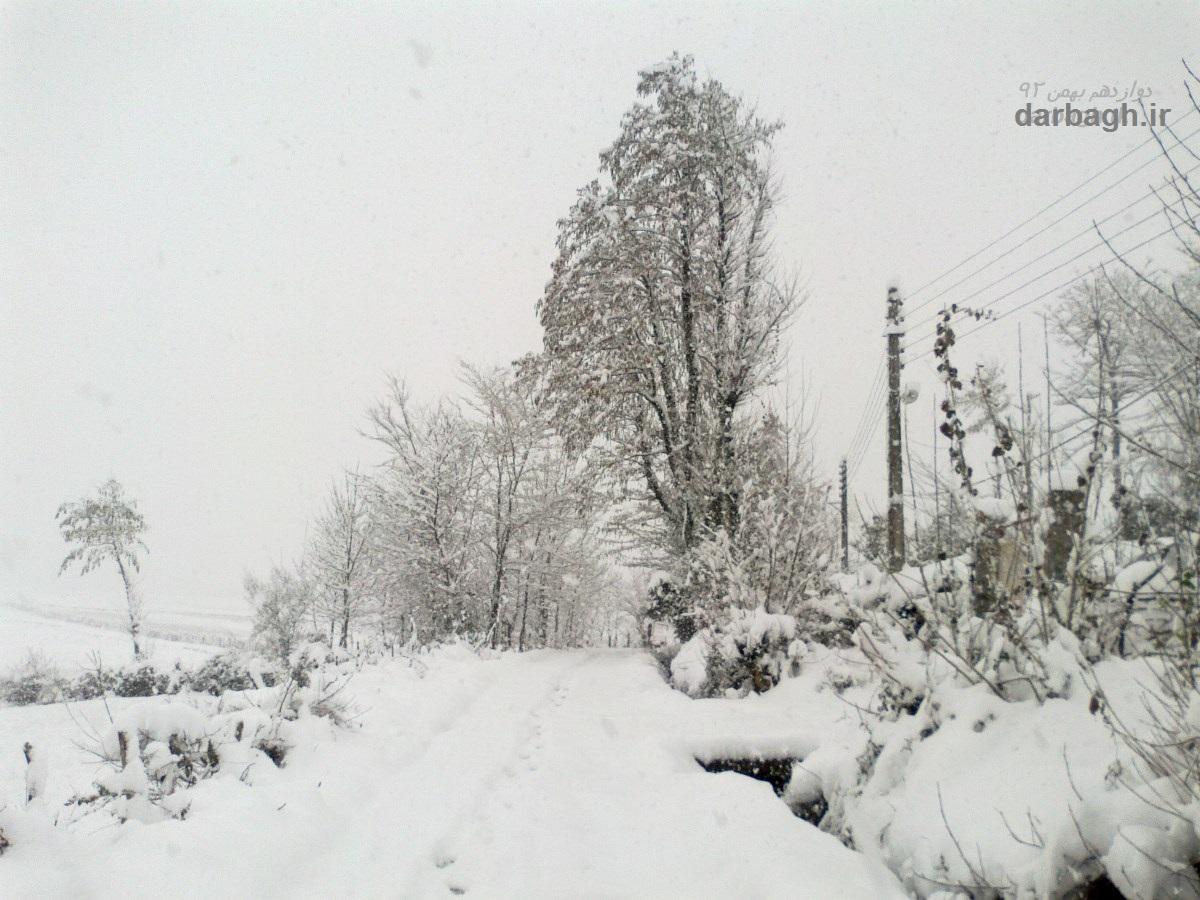 barf darbagh ir 12 1  برف دارباغ 12 بهمن 92