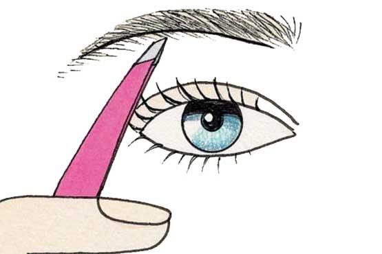 روشی برای برداشتن ابرو به شیوه ماهرانه ! , آرایش و زیبایی