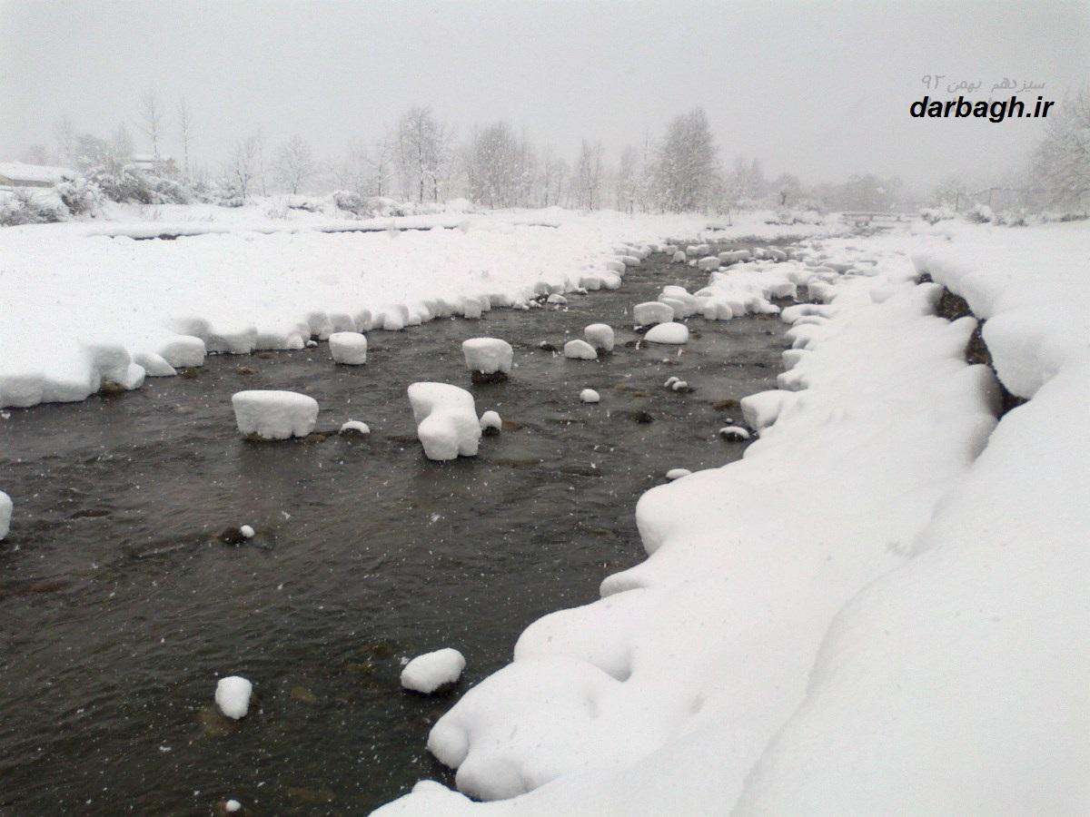 barf darbagh ir13 11 92 8  عکسهای برف دارباغ 13 بهمن 92