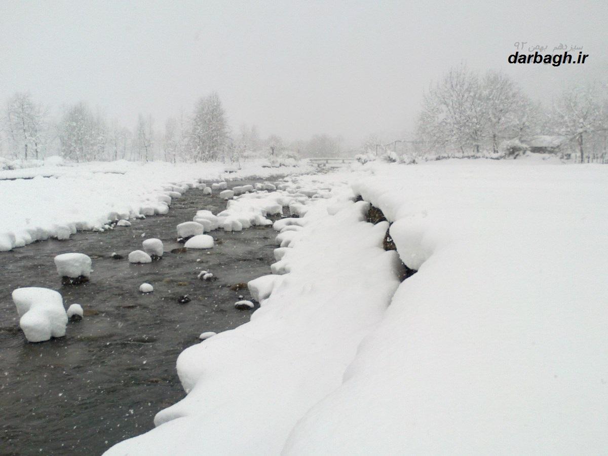 barf darbagh ir13 11 92 9  عکسهای برف دارباغ 13 بهمن 92