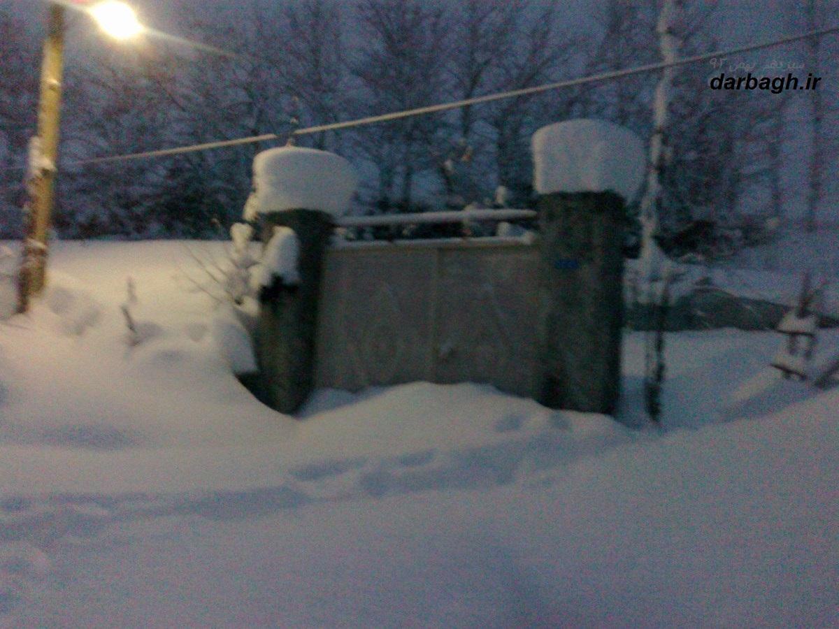 barf darbagh ir13 11 92 12  عکسهای برف دارباغ 13 بهمن 92