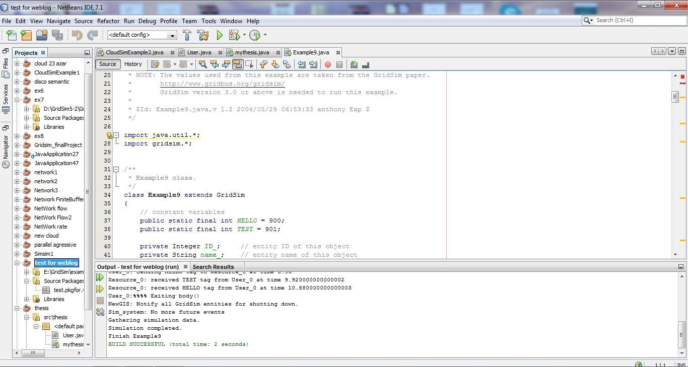 برنامه NetBeans IDE