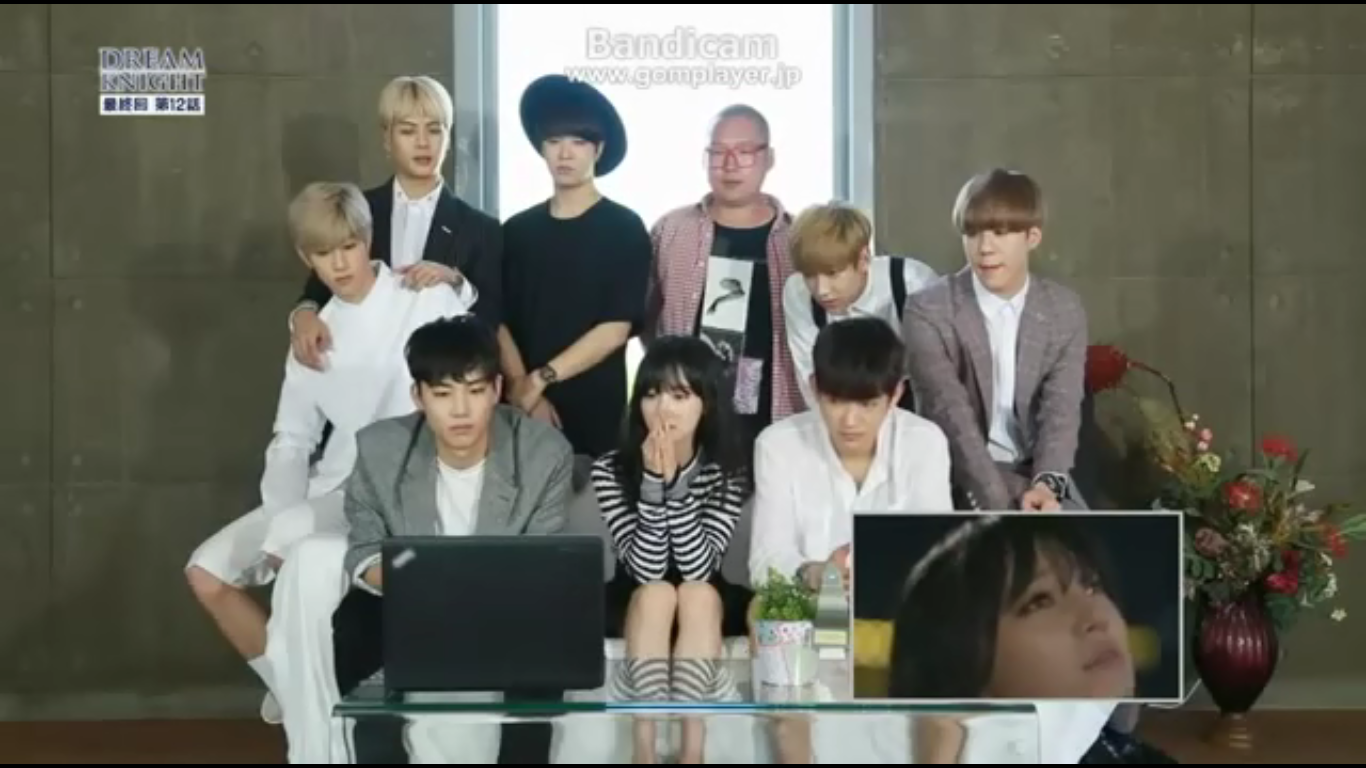 got7 reaction when watching dream knight
