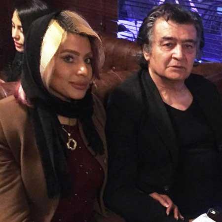 عیادت رضا رویگری و همسرش از شهلا ریاحی , اخبار سینما