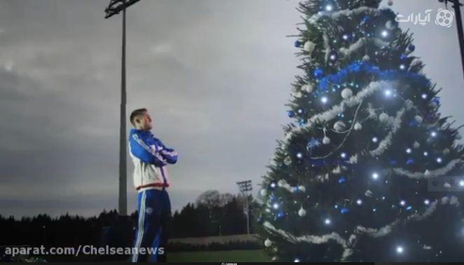 ویدئو : آماده شدن چلسی برای کریسمس