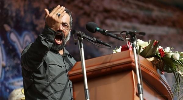 مداحی حاج محمود کریمی در مراسم تشییع پیکر شهدای غواص....