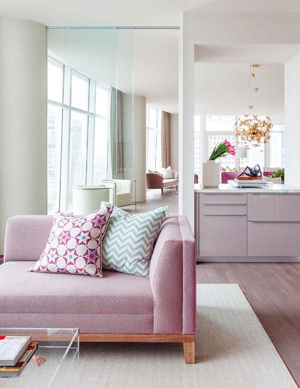 طراحی آپارتمانی زنانه