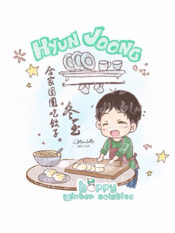 [blancbelle Fanart] HJ gathering with army mates at winter solstice [15.12.22]