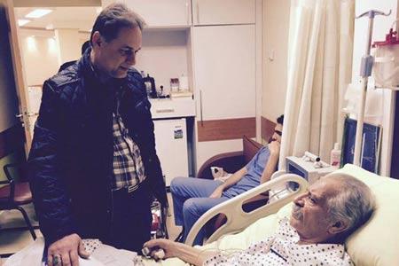 آخرین وضعیت پورحیدری در بیمارستان , اخبار ورزشی