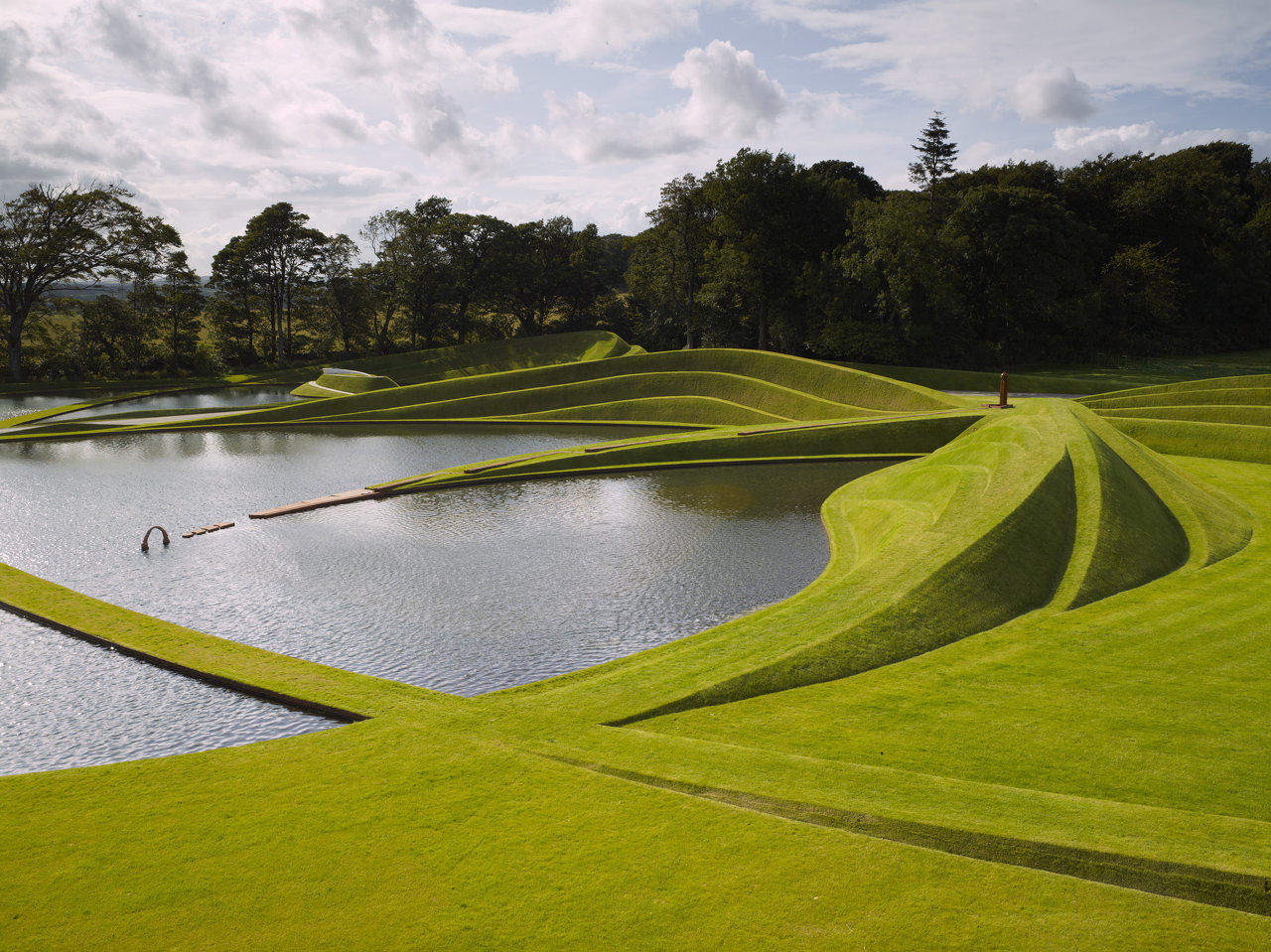 The Garden of Cosmic Speculation  Scotland - خیالباف -خیالبافی