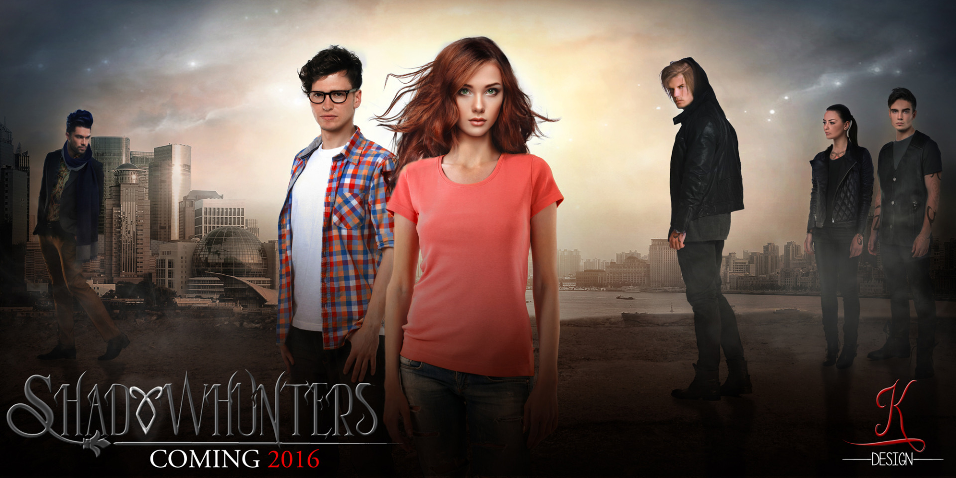 والپیپر و پوستر جدید سریال Shadow Hunters