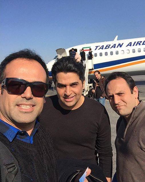 پست جدید حمید عسکری (فرودگاه اهواز)