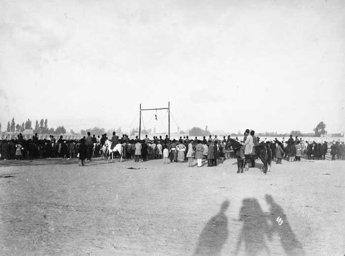 صحنه اعدام میرزا رضا کرمانی