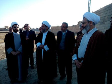 وقف یک قطعه زمین جهت به کار گیری برای حوزه علمیه توسط میرزا حسین صفاری