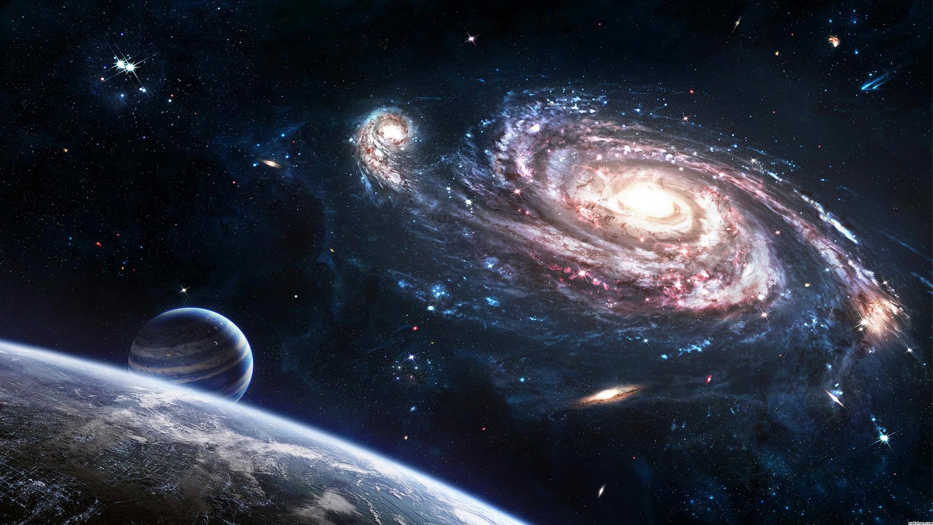 :: یک کهکشان زیبایی اما من، سهمم شده دیدار دورادور ::