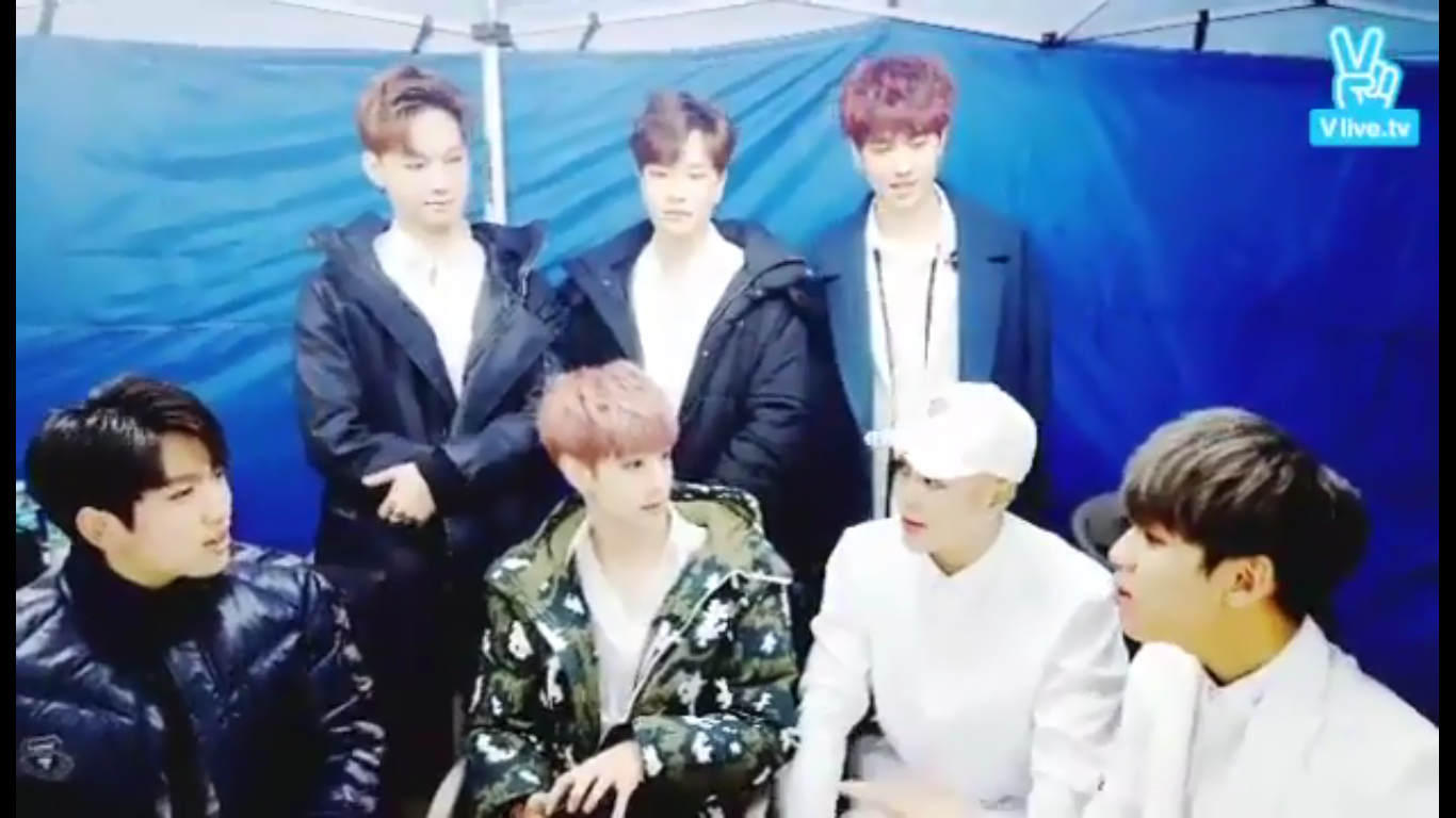 Naver V App GOT7's End of The Year Greetings