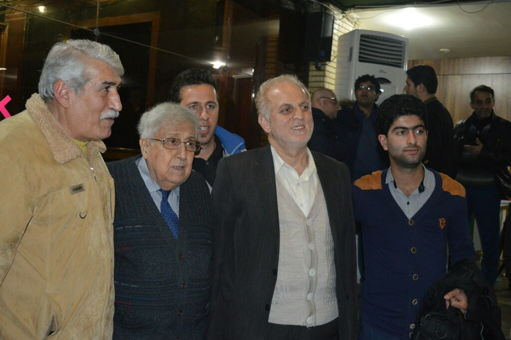 دیدار با دکتر مرتضی طالع و استاد حسین موسوی