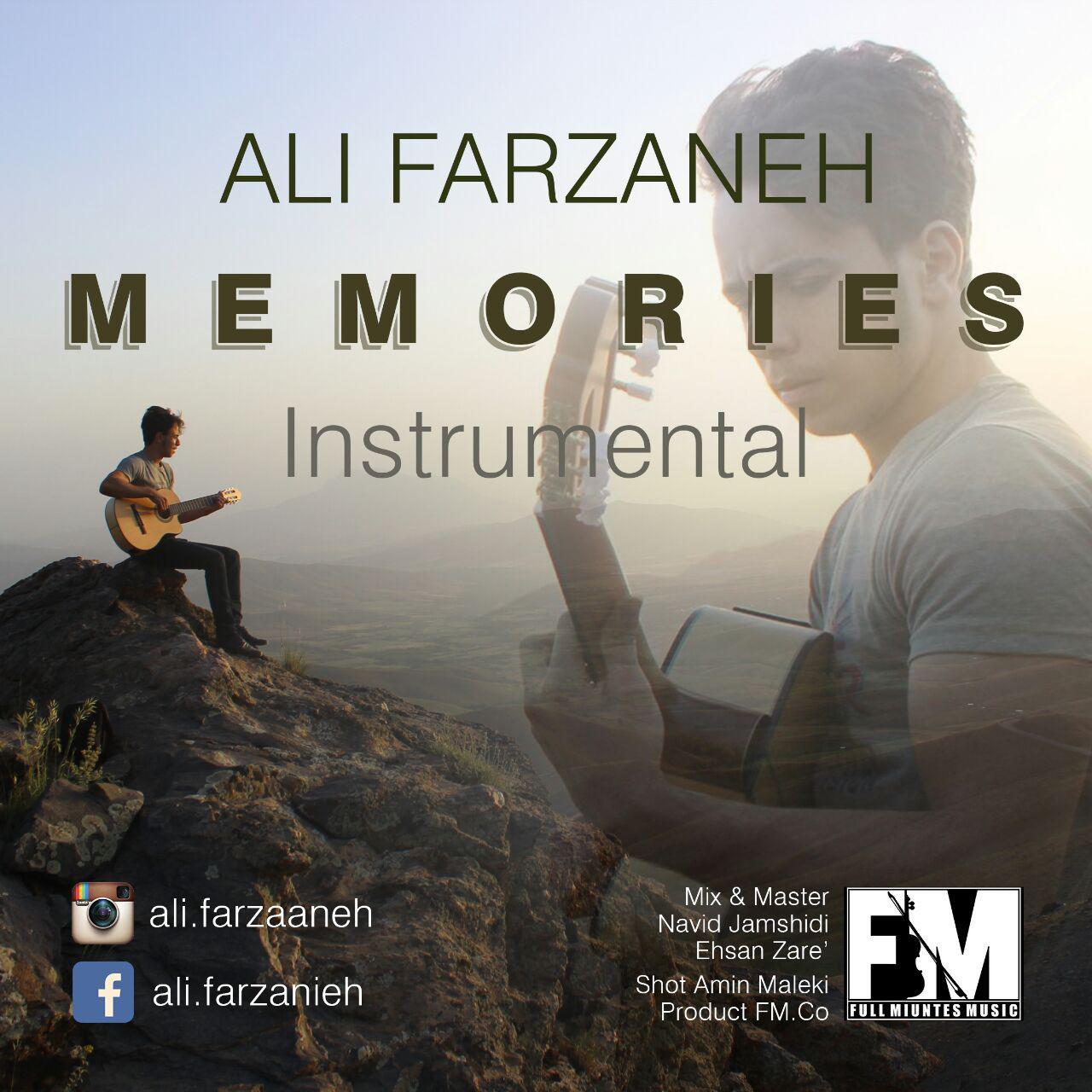 دانلود آلبوم جدید علی فرزانه به نام خاطره ها ( بی کلام )