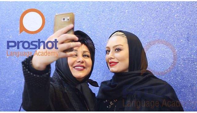 سلفی دو بازیگر زن معروف! +عکس , چهره های ایرانی