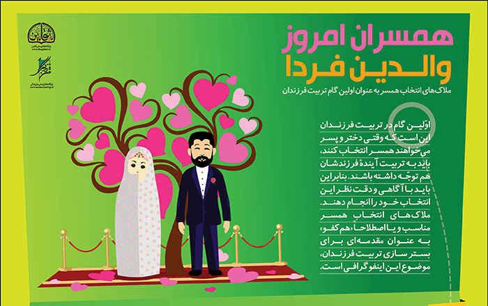 ملاک های انتخاب همسر مناسب و هم کفو