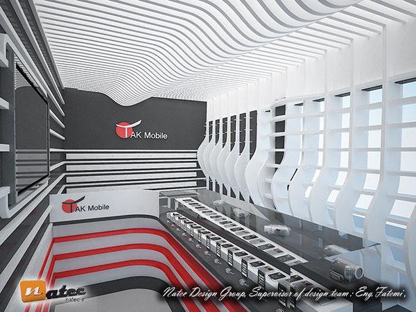 طراحی مغازه موبایل در اصفهان