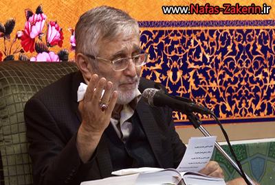منصور ارضی-مراسم زیارت عاشورا 1394/10/15 حسینیه صنف لباس فروشان